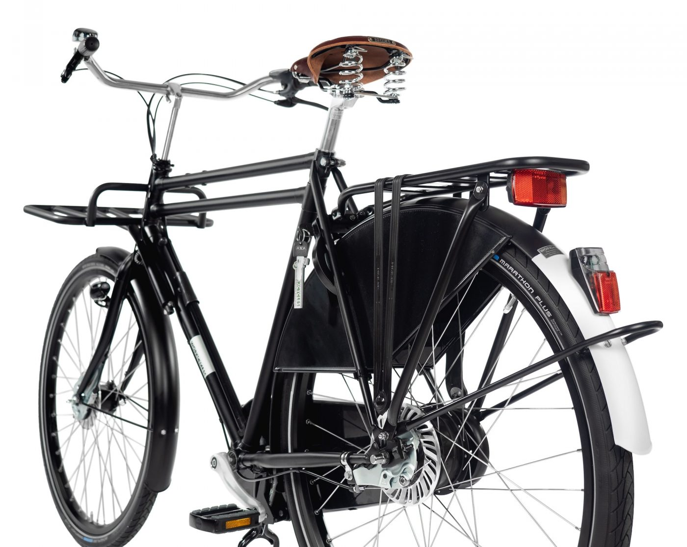 Combining strength and looks, the WorkCycles Double Tube Transport is a modern vehicle built for maximum utility.