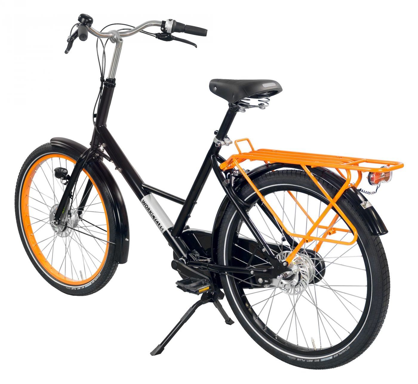 Everything about the Workcycles Fr8 Classic, including the geometry, generous clearances, fittings and materials has been developed to create the toughest, most stable and convenient bicycle possible.