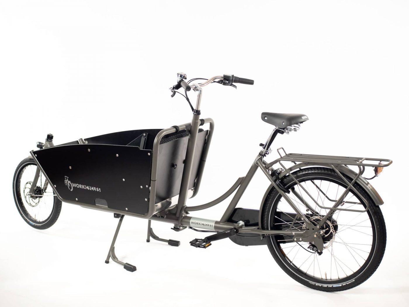 WorkCycles Kr8 bakfiets, child transport bike, dutch city bike