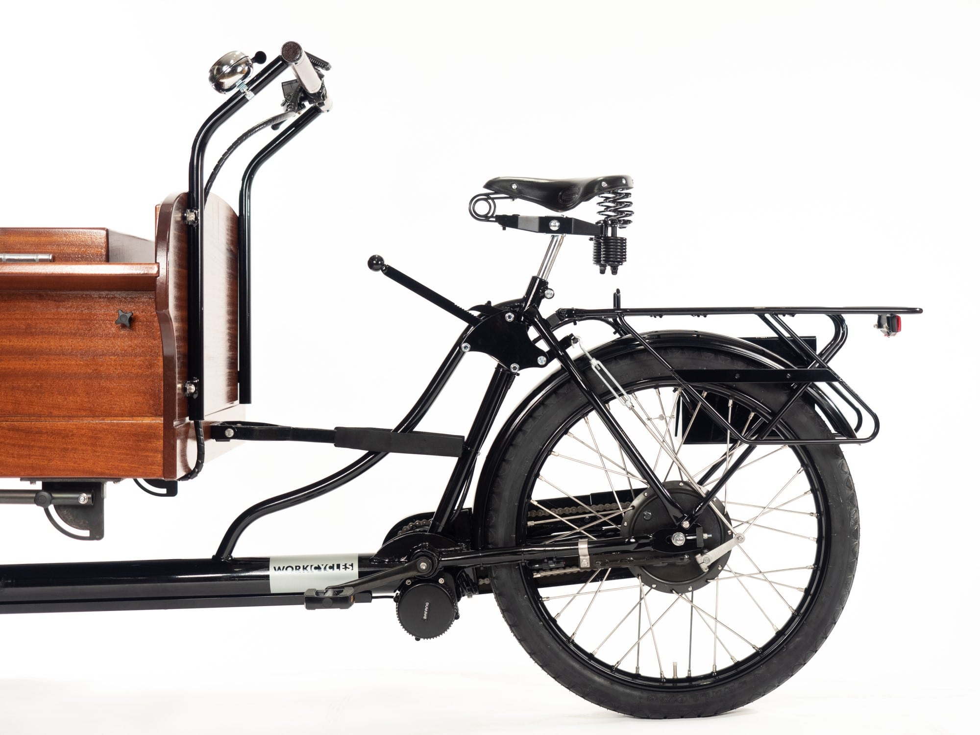 Practical maximum cargo weight for cycling is around 250kg