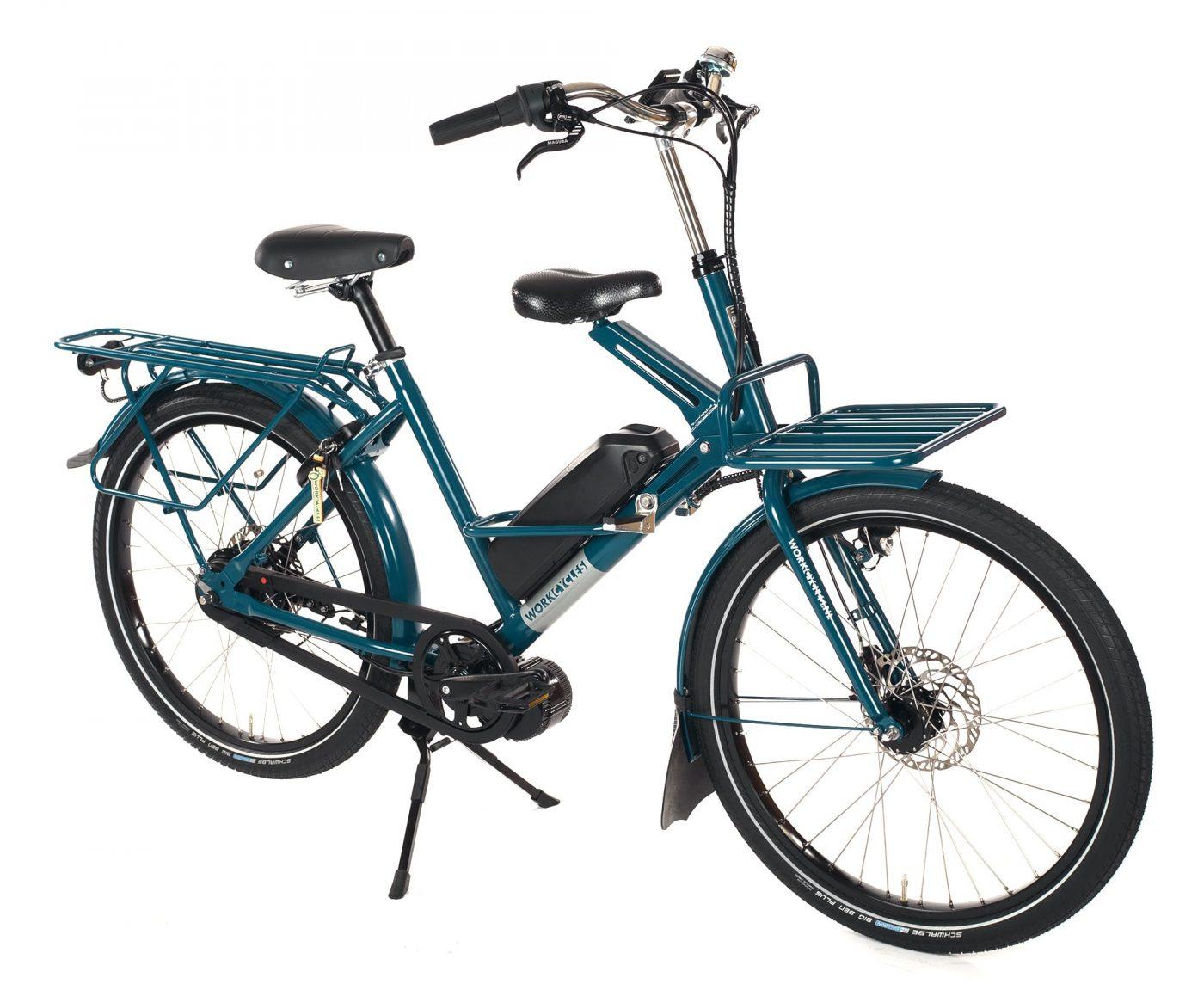WorkCycles Fr8 MAD, dutch electric bike, child transport bike