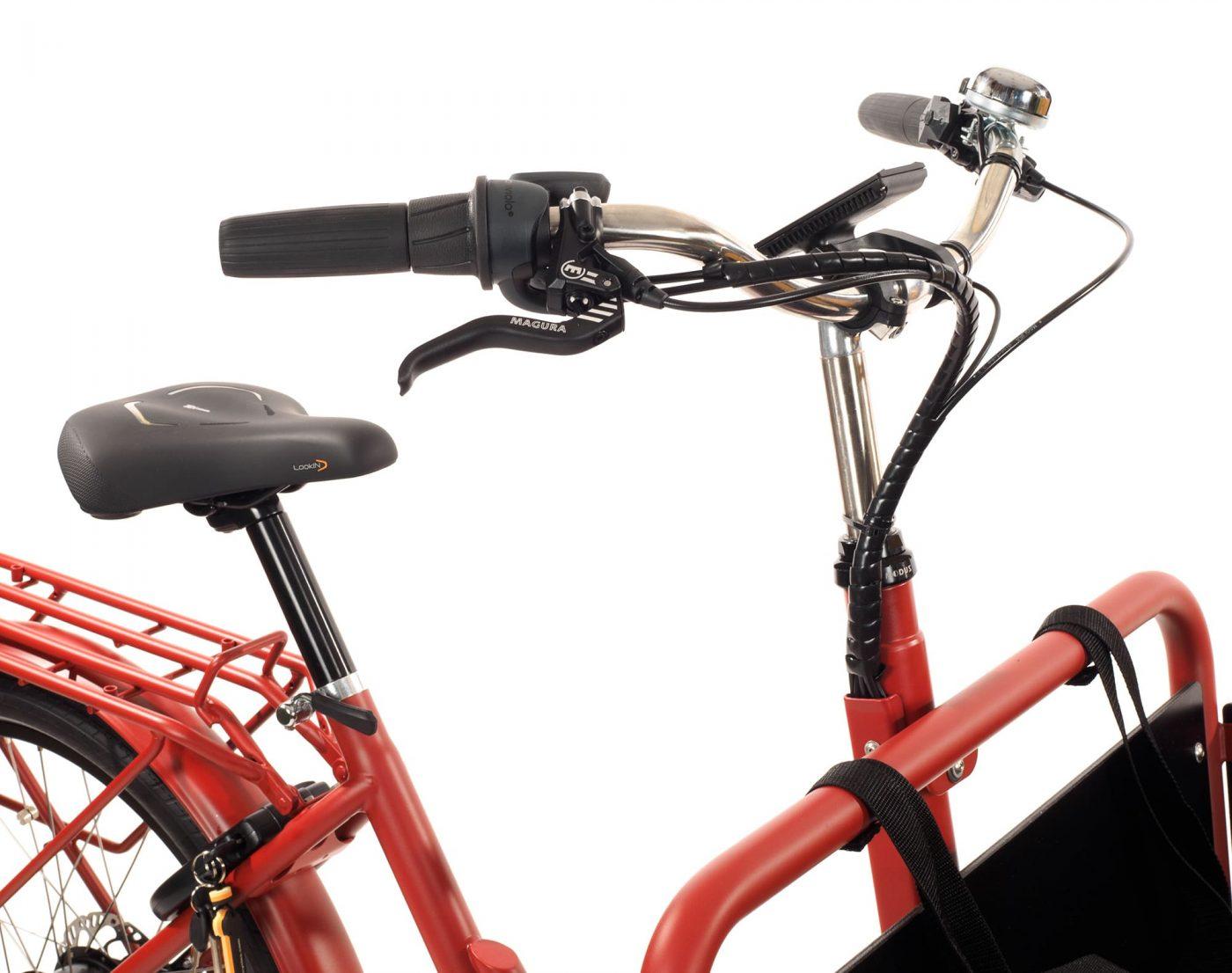 WorkCycles Kr8 cockpit, dutch e bikes