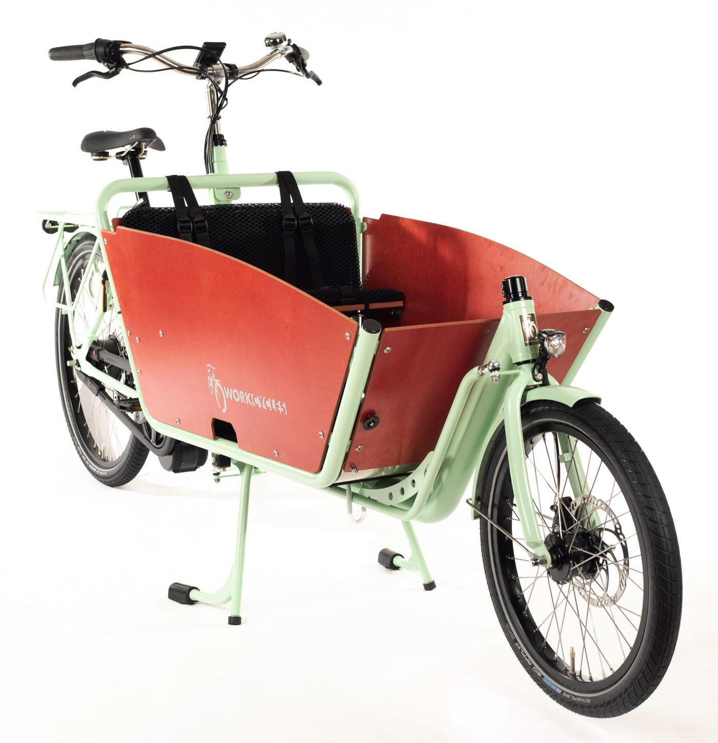 WorkCycles Kr8 MAD bakfiets, child transport bike, dutch e bikes